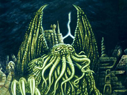 In his house at R'lyeh dread Cthulhu waits dreaming